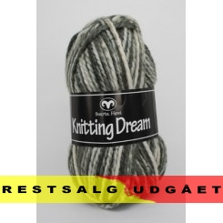 Knitting Dream 02 Grå/Råhvid