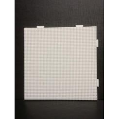 Artkal Mini-C Stiftplade stor firkant - Hvid