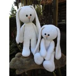 XXL Funny Bunny Basic Hvid