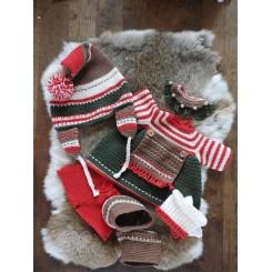 XXL Funny Tøjsæt Christmas Classic Girl