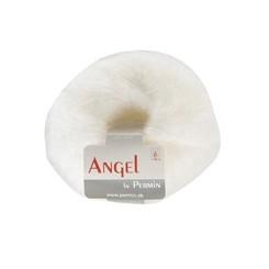 Angel Mohair 01 hvid