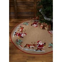 Juletræstæppe 45-1243  Ø 170 cm