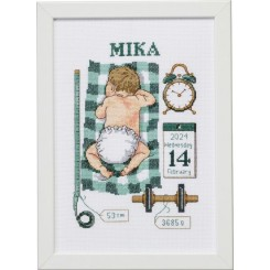 92-0852 Dåbsbilled Mika