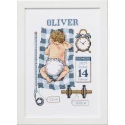 92-0851 Dåbsbilled Oliver