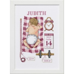 92-0850 Dåbsbilled Judith