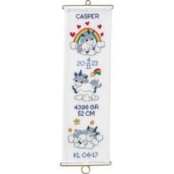36-0742 Dåbsklokkestreng Casper