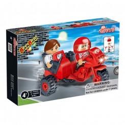 Motorcykel med sidevogn nr. 8781