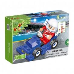 Miniracer Blå nr. 8117