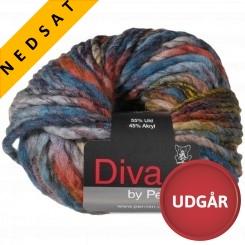 Diva 03 Uldmix Blå