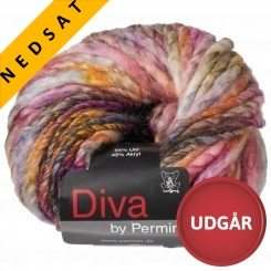 Diva 04 Uldmix Pink