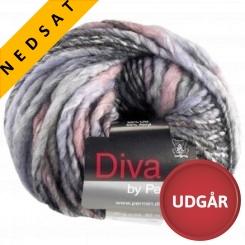 Diva 08 Uldmix Rosa