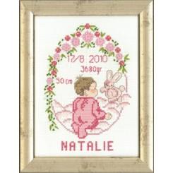12-9605 Dåbsbilled Natalie