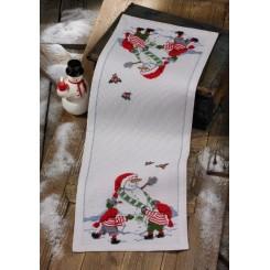 Juleløber 75-3656 34x96 cm