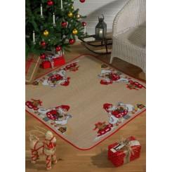 Juletræstæppe 45-4251  126x126 cm