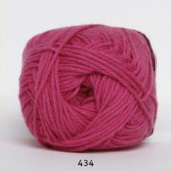 Hjertegarn Cotton nr. 8 fv.  434 Cerise