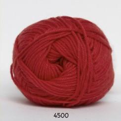 Hjertegarn Cotton nr. 8 fv. 4500 Rød
