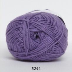 Hjertegarn Cotton nr. 8 fv. 5244 lilla