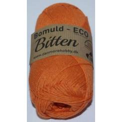 Bitten   1 Orange ECO - 100% Økologisk bomuldsgarn