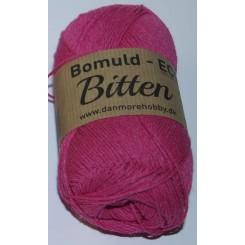Bitten   7 Pink ECO - 100% Økologisk bomuldsgarn