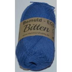 Bitten 301 Koboltblå ECO - 100% Økologisk bomuldsgarn