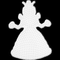 Nr. 258 HAMA Midi Stiftplade Prinsesse