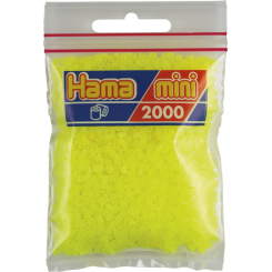 Hama Mini nr. 34 Neon Gul