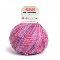 New Zealand Print 23 Lilla Multi