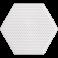 Hama Mini Stiftplade Nr. 594 Sekskant