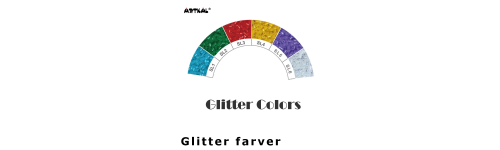 Midi-S Glitter Color Scale