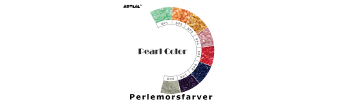 Midi-S Pearl Color Scale