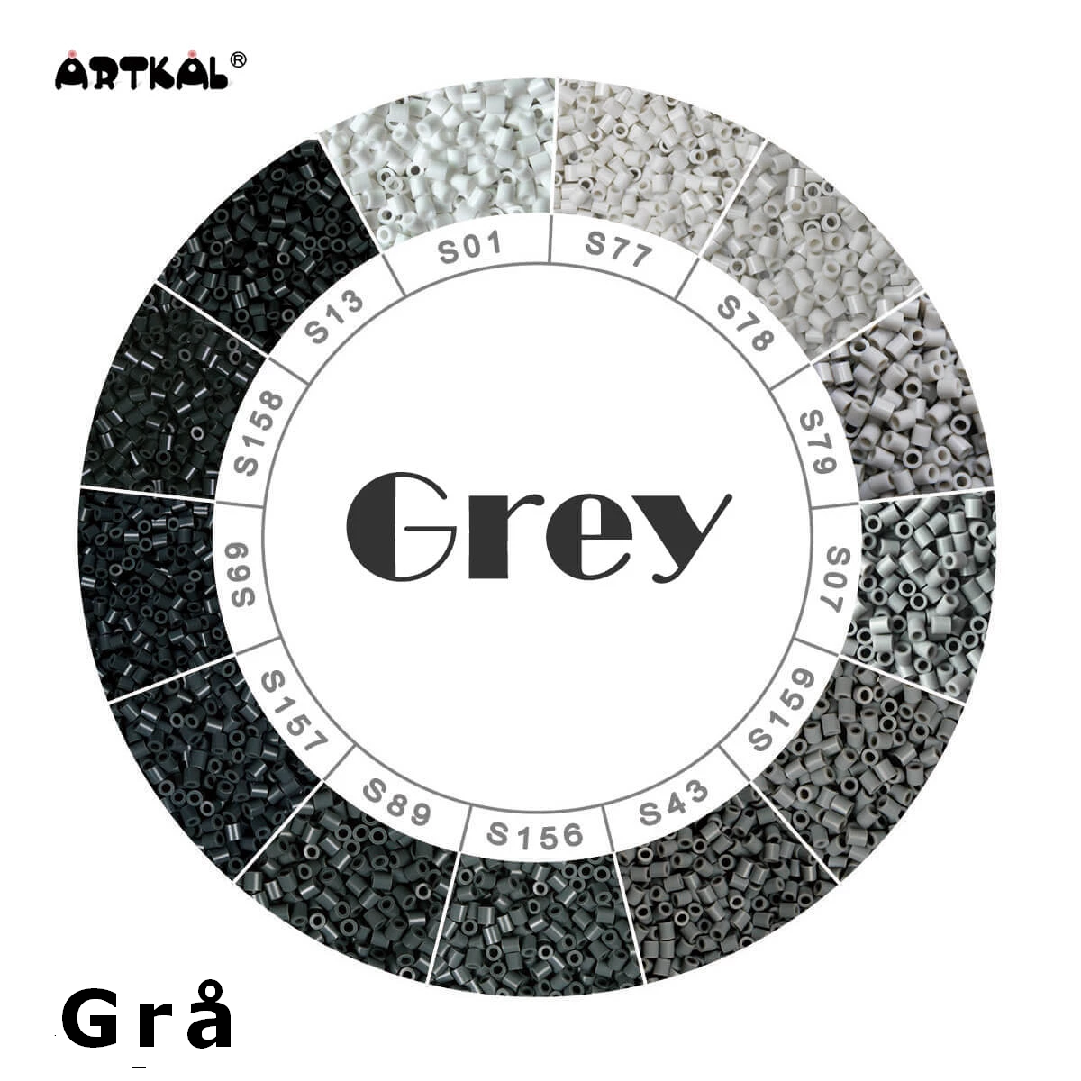 Artkal Midi-S Wheel Grey