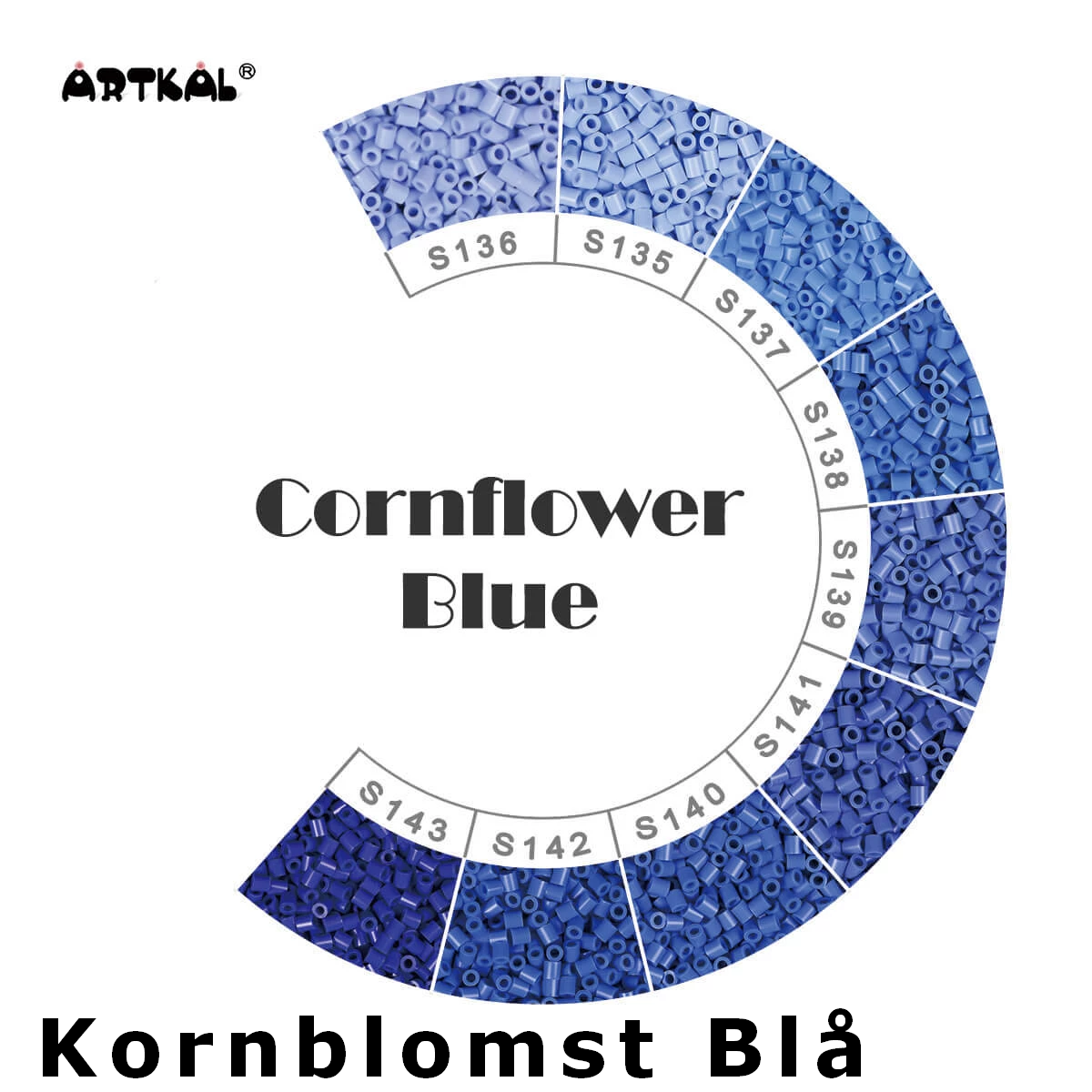 Artkal Midi-S Wheel Cornflower blue