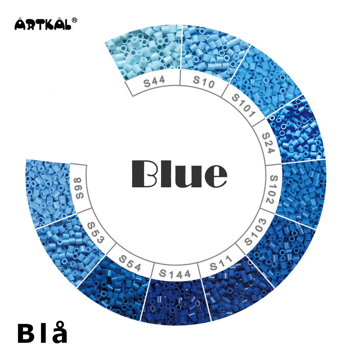 Artkal Midi-S Wheel Blue