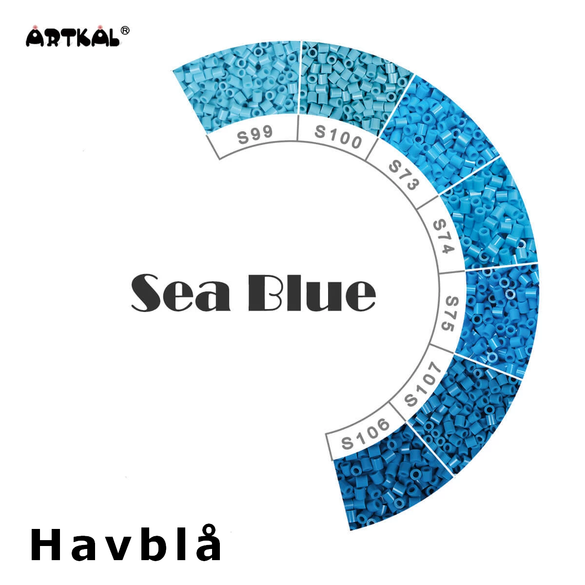 Artkal Midi-S Wheel Sea Blue