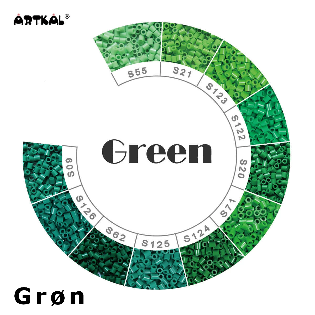 Artkal Midi-S Wheel Green