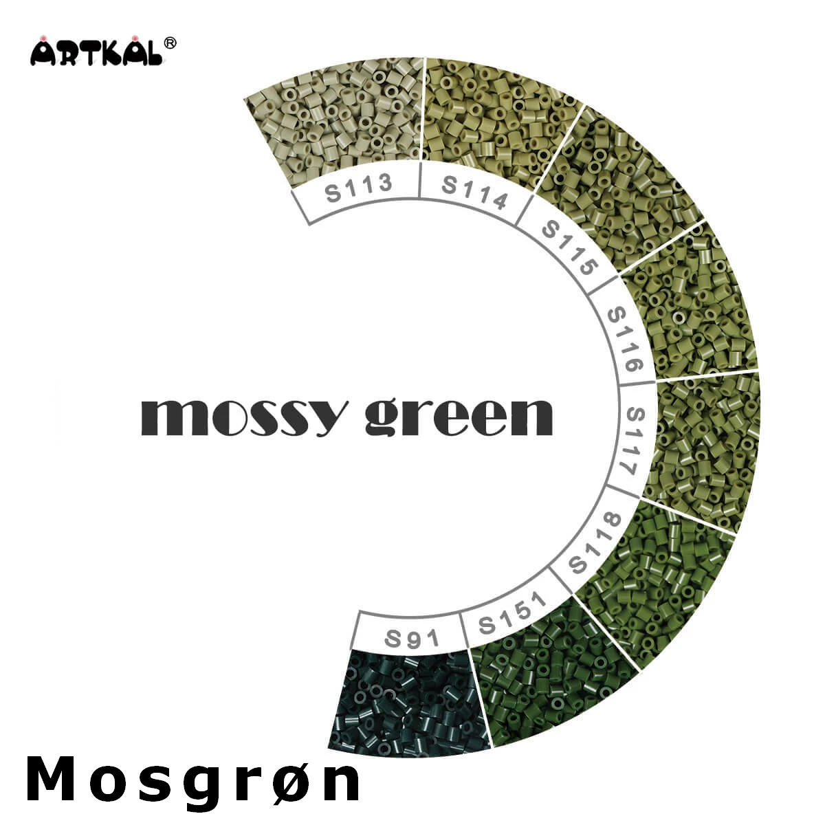 Artkal Midi-S Wheel Mossy Green