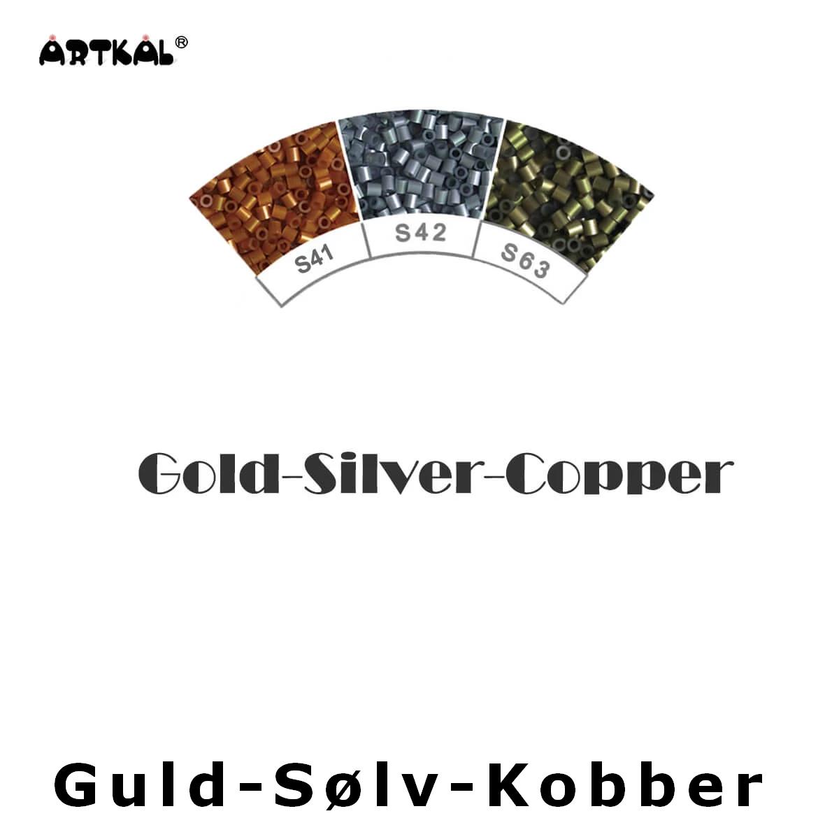 Artkal Midi-S Wheel Gold Silver Copper