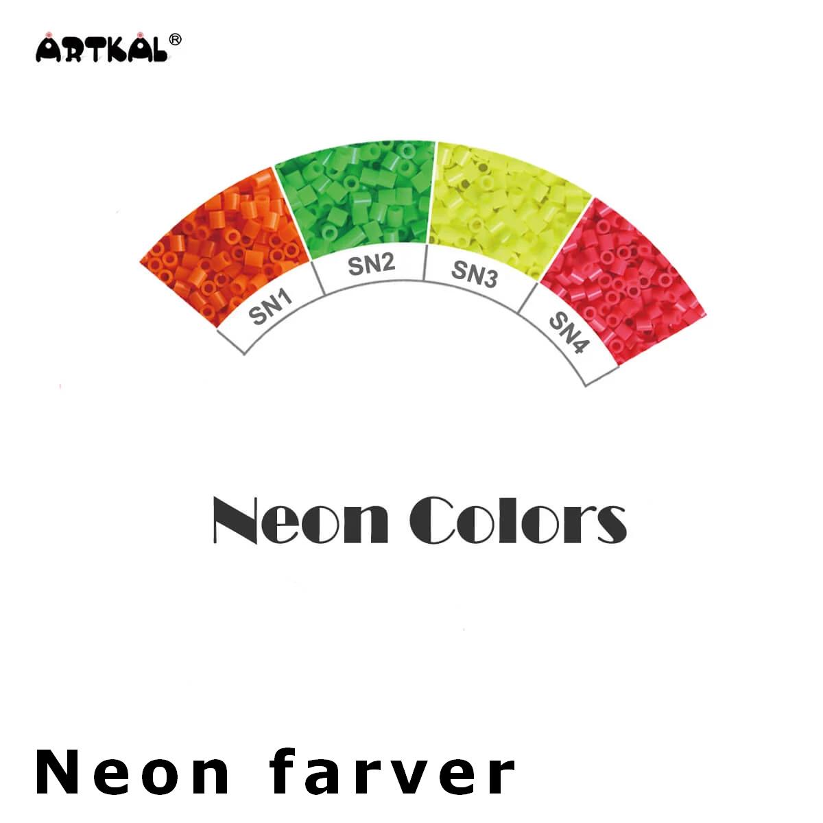 Artkal Midi-S Wheel Neon Colors