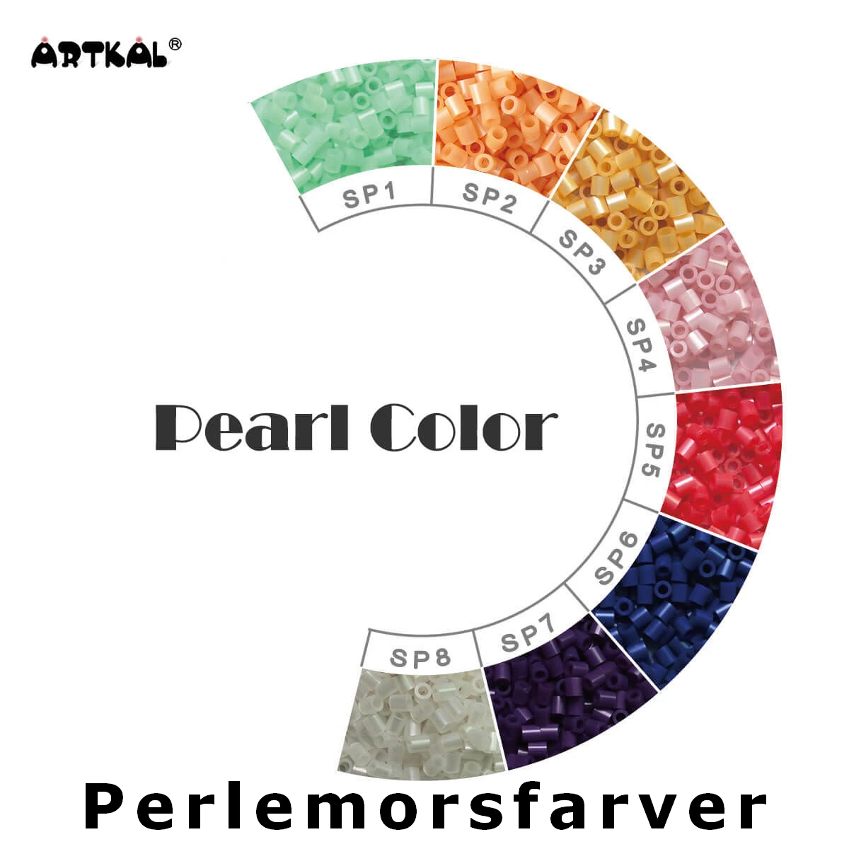 Artkal Midi-S Wheel Pearl Color