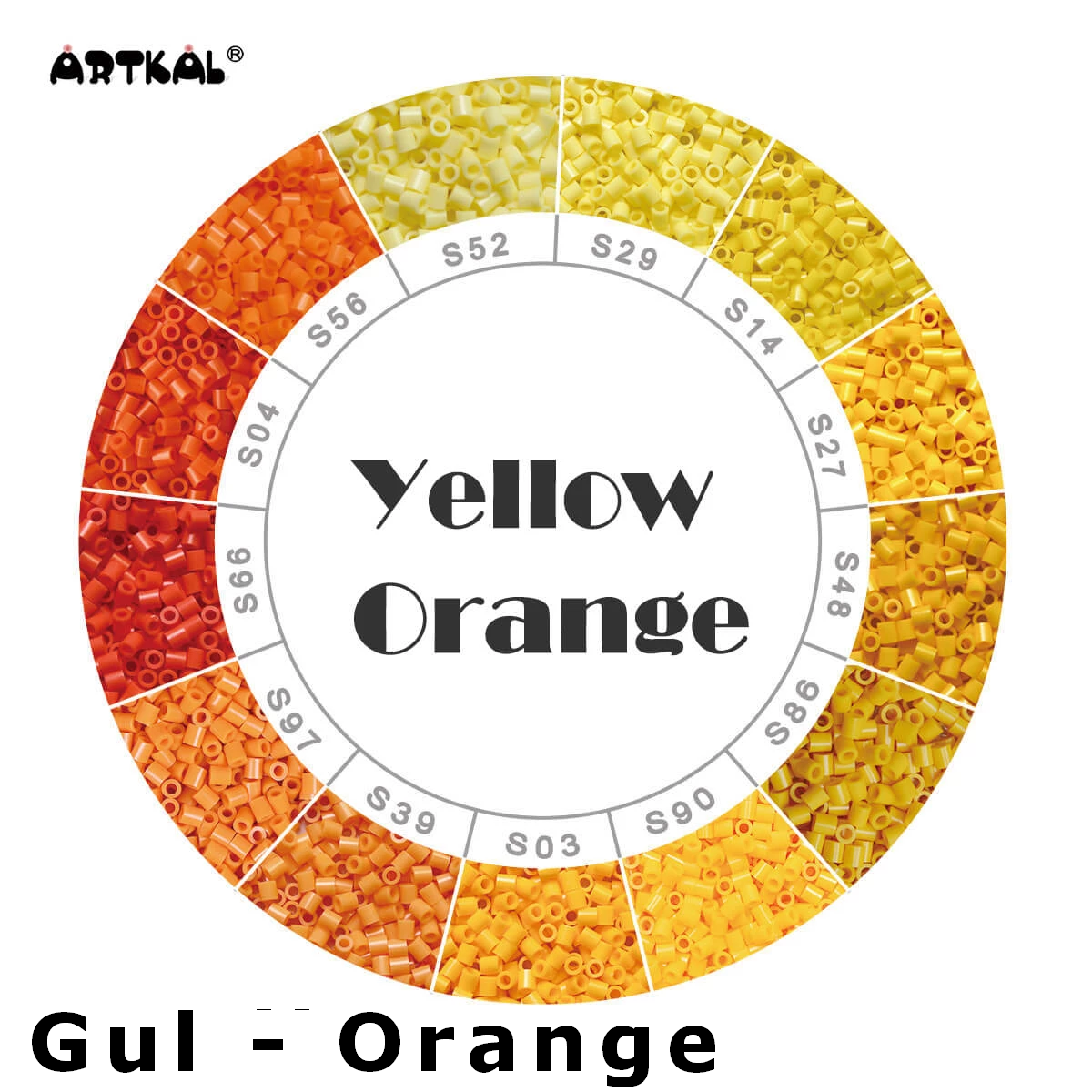 Artkal Midi-S Wheel Yellow - Orange