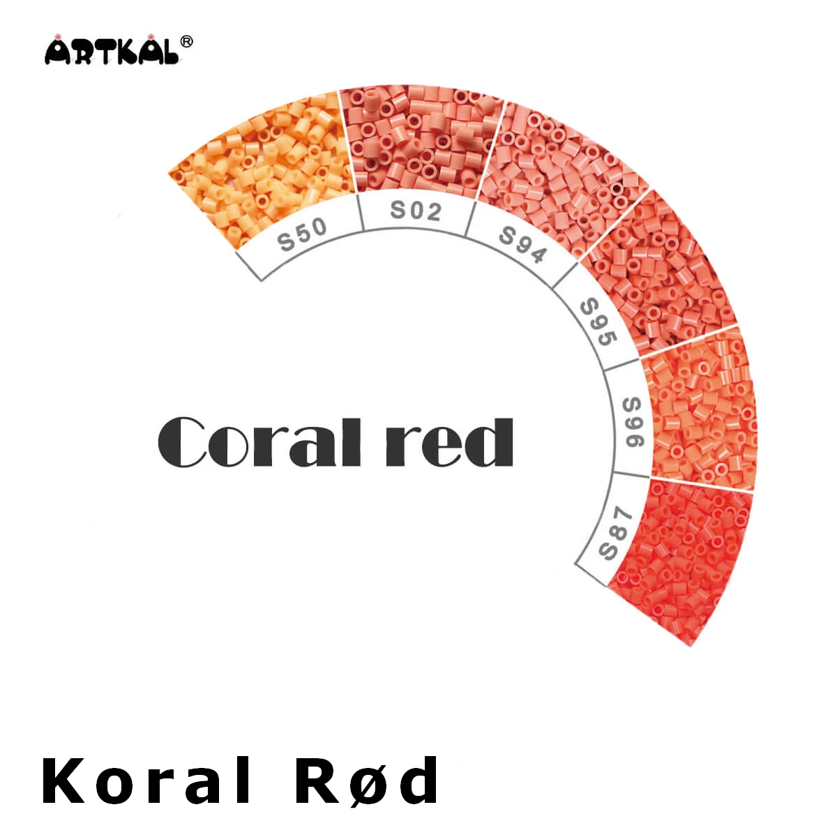 Artkal Midi-S Wheel Coral-Red