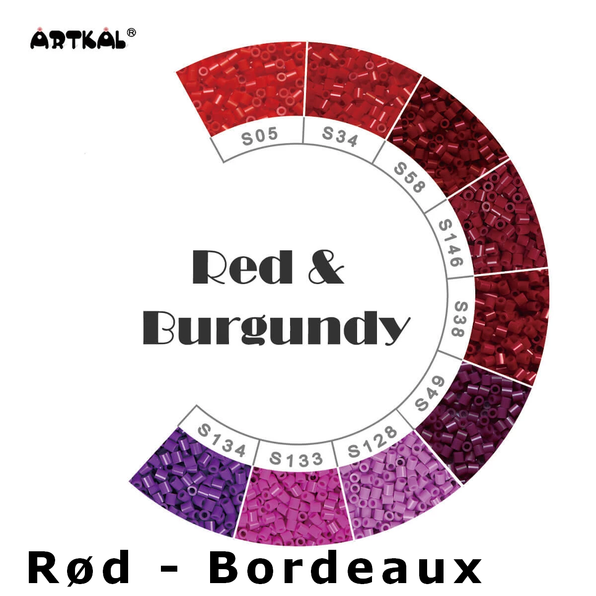 Artkal Midi-S Wheel Red & Burgundy