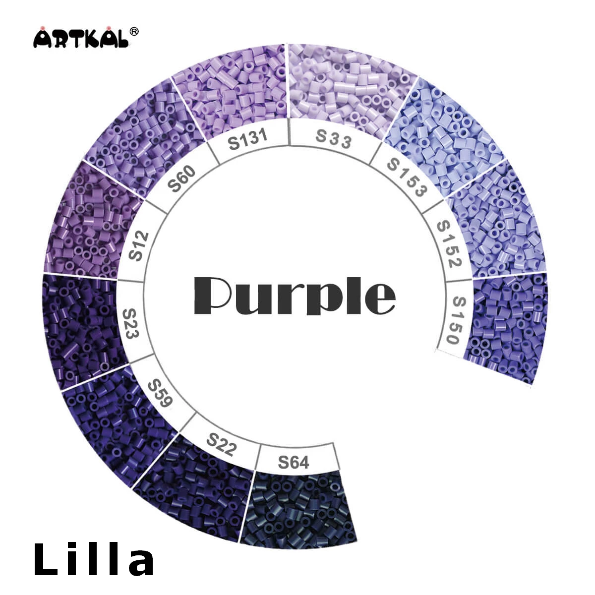 Artkal Midi-S Wheel Purple
