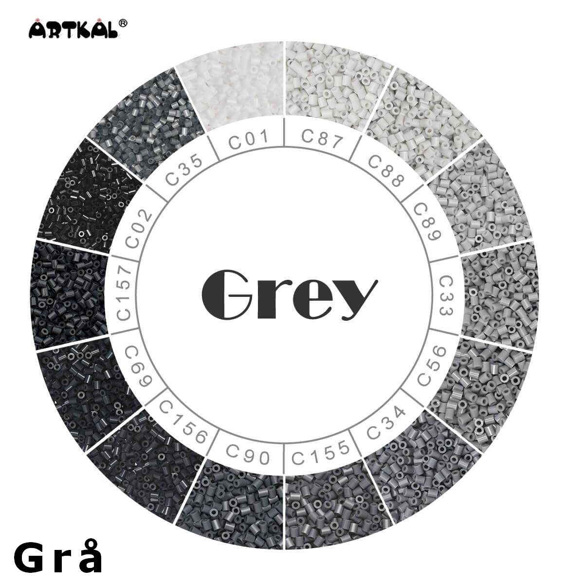 Artkal Wheel Grey