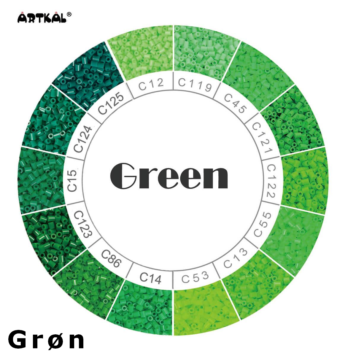 Artkal Wheel Green