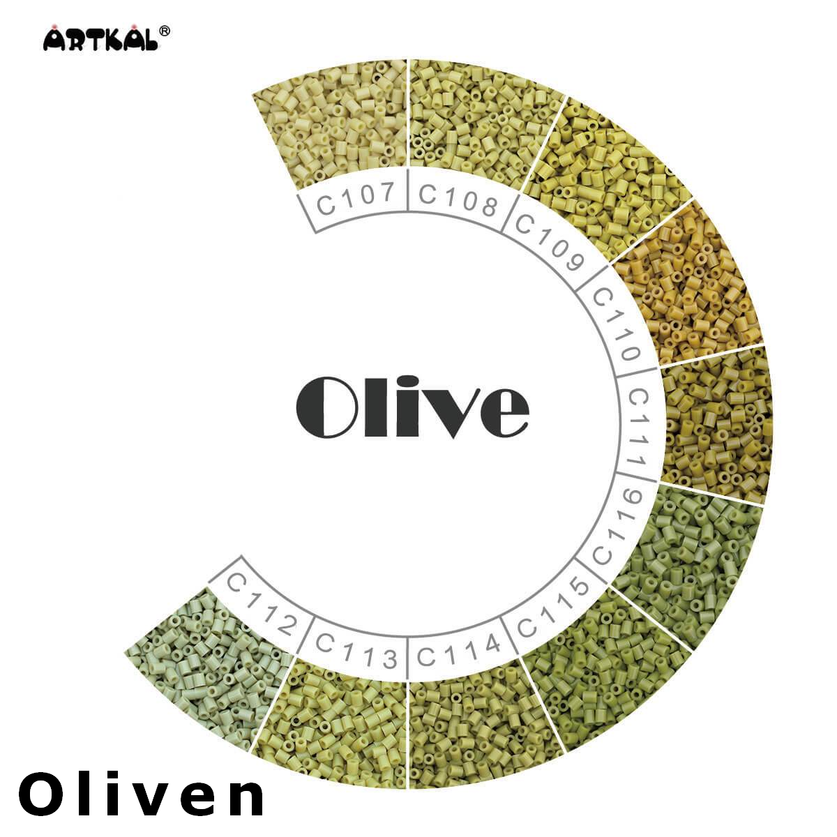 Artkal Wheel Olive