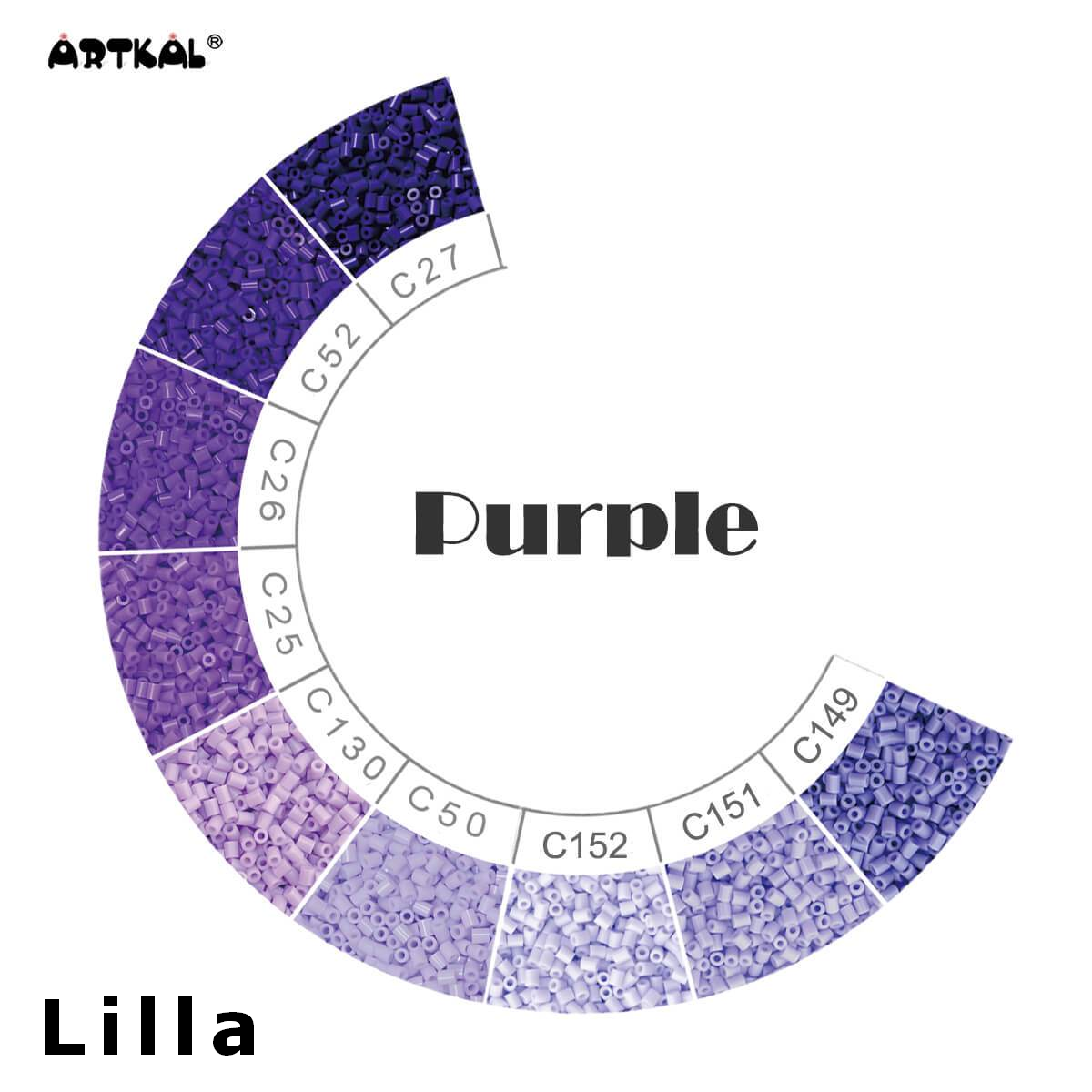 Artkal Wheel Purple
