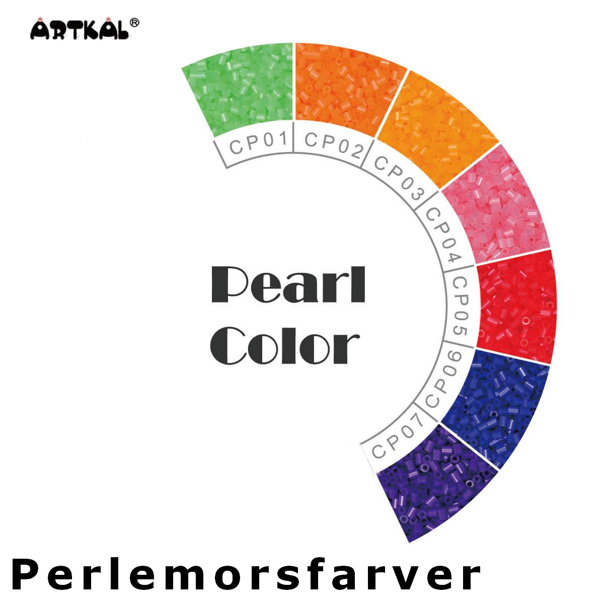 Artkal Wheel Pearl Color