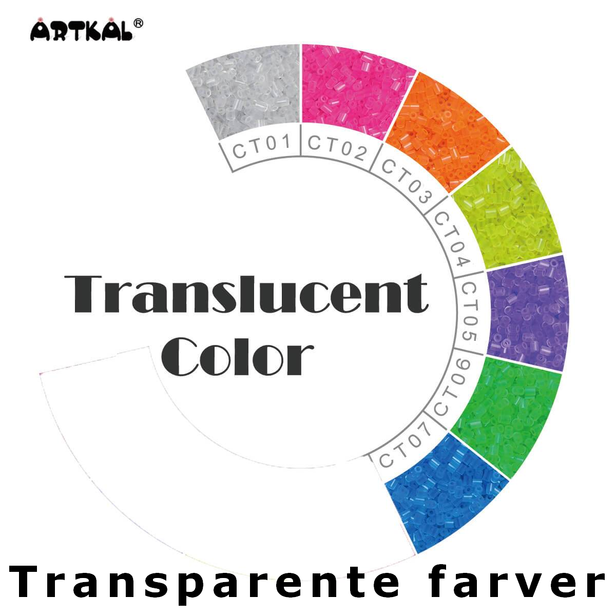 Artkal Wheel Transparent color
