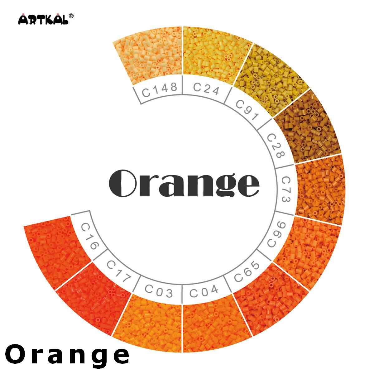 Artkal Wheel Orange